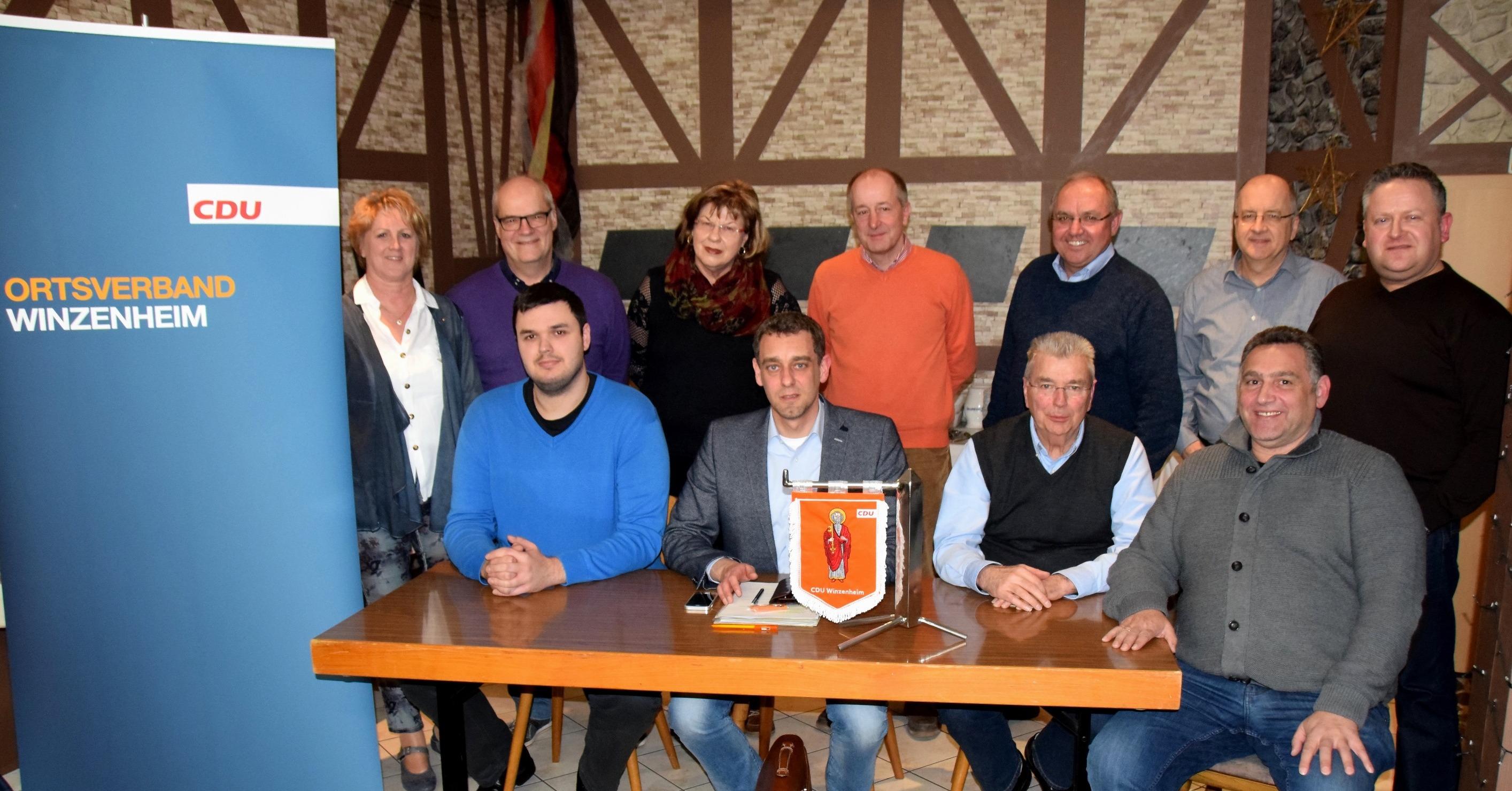 CDU: CDU Winzenheim hat einen neuen Vorstand